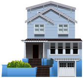 A big wooden house Royalty Free Stock Photo