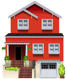 A big wooden house Stock Photo