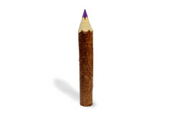 Big wooden pencil Stock Photography