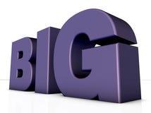 Big word Stock Photo
