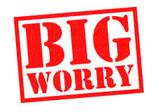 BIG WORRY Stock Images