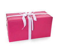 Big wrapped present Stock Images