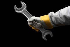 Big wrench Stock Photos