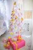 Big xmas tree Royalty Free Stock Image