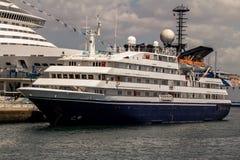 Big yacht Royalty Free Stock Photos