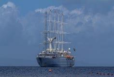 Big yacht Stock Image