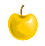 Big Yellow Apple Stock Images