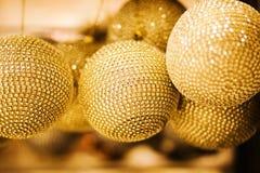 Big yellow balls Royalty Free Stock Images