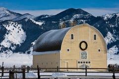 Big Yellow Barn royalty free stock photography