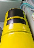 Big yellow barrel Royalty Free Stock Image