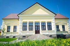 Big Yellow Building Royalty Free Stock Photo