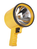 Big yellow flashlight Royalty Free Stock Photos