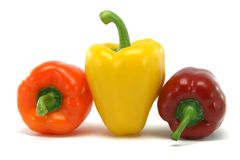 Big yellow pepper Stock Photography