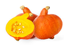 Big yellow pumpkin Royalty Free Stock Photography