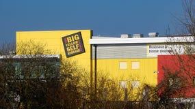 The Big Yellow Storage Company royalty free stock photos