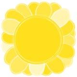 Big Yellow Sun Flower sunflower Stock Image