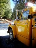 Big Yellow Truck. A yellow fire truck located in Volcano, CA Stock Photos