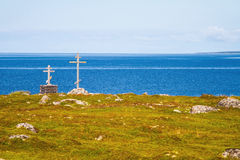 Big Zayatsky island, Solovki Stock Photography