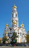 Big Zlatoust (Maximilian Church) in Ekaterinburg. Big Zlatoust (Big Chrysostom, Maximilian Church) - Orthodox Church and Belfry in Ekaterinburg, Russia Royalty Free Stock Photography