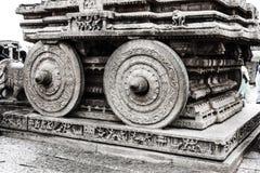 Biga da pedra de Hampi Imagens de Stock