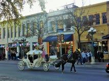 Biga de Cinderella em San Antonio foto de stock royalty free
