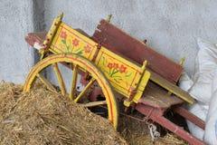 Biga siciliano velha foto de stock royalty free