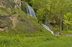 Bigar河瀑布,塞尔维亚 免版税库存照片