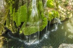 Bigar瀑布 库存照片