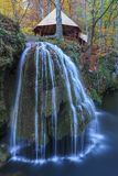 Bigar Cascade Falls in Nera Beusnita Gorges National Park, Romania Royalty Free Stock Photography