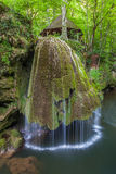 Bigar Cascade Falls in Nera Beusnita Gorges National Park, Romania. royalty free stock photography