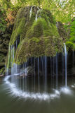 Bigar Cascade Falls in Nera Beusnita Gorges National Park, Romania. Stock Photography