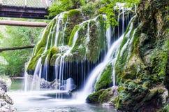 Bigar vattenfall Royaltyfri Foto