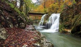 Bigar vattenfall, Rumänien Royaltyfria Foton