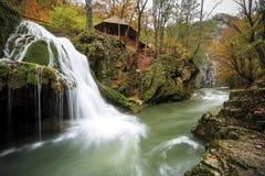 Bigar vattenfall, Rumänien Fotografering för Bildbyråer