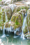 Bigar-Wasserfall eingefroren Lizenzfreie Stockfotografie