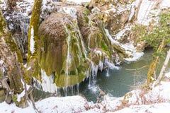 Bigar-Wasserfall eingefroren Lizenzfreie Stockfotos