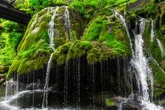 Bigar Waterfall. Bigar cascade in Anina, Romania Stock Photography