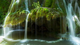 Bigar Waterfall, Parallel 45 in Romania Stock Photos