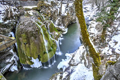 Bigar waterfall, Romania Royalty Free Stock Images