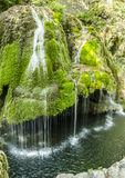 Bigar Waterfall. Was declared a natural protected area in the Caraș-Severin County, Banat Mountains, Romania Royalty Free Stock Photo