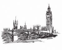 Bigben London Stockfotografie
