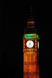 The bigben at night Stock Image