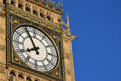 The Bigben Tower Clock Royalty Free Stock Photos