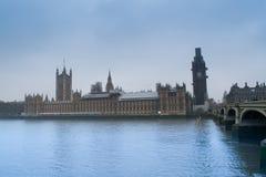 BigBen y casa del parlamento imagen de archivo