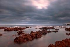 Bigbury auf Meer stockfoto