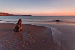 bigbury morze Obrazy Royalty Free
