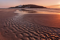 Bigbury on sea, Burgh Island Stock Photo
