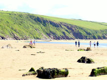 Bigbury on sea, Devon. Royalty Free Stock Photography