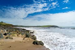 Bigbury-On-Sea South Hams Devon Stock Photo