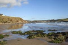 Bigbury sur la mer, Devon, Angleterre Photo libre de droits